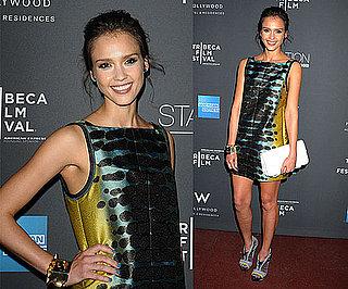 Jessica Alba Wearing Proenza Schouler