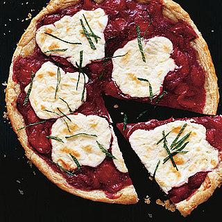 Easy Puff Pastry Strawberry Jam Tart Recipe