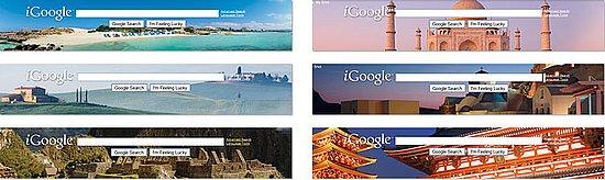 New iGoogle Themes From Around the World
