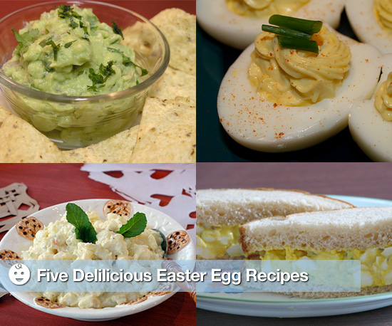 Recipes For Leftover Easter Eggs