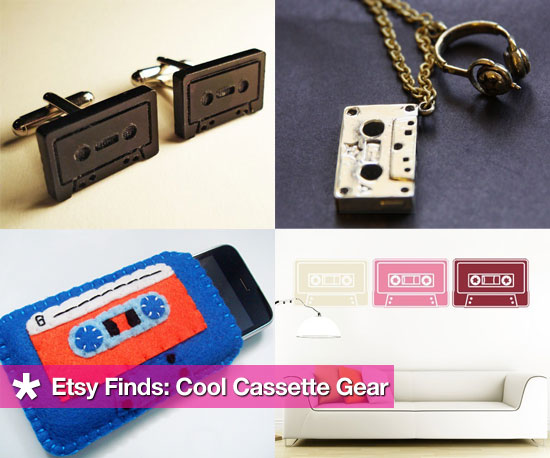 Cassette-Themed Handmade Finds From Etsy