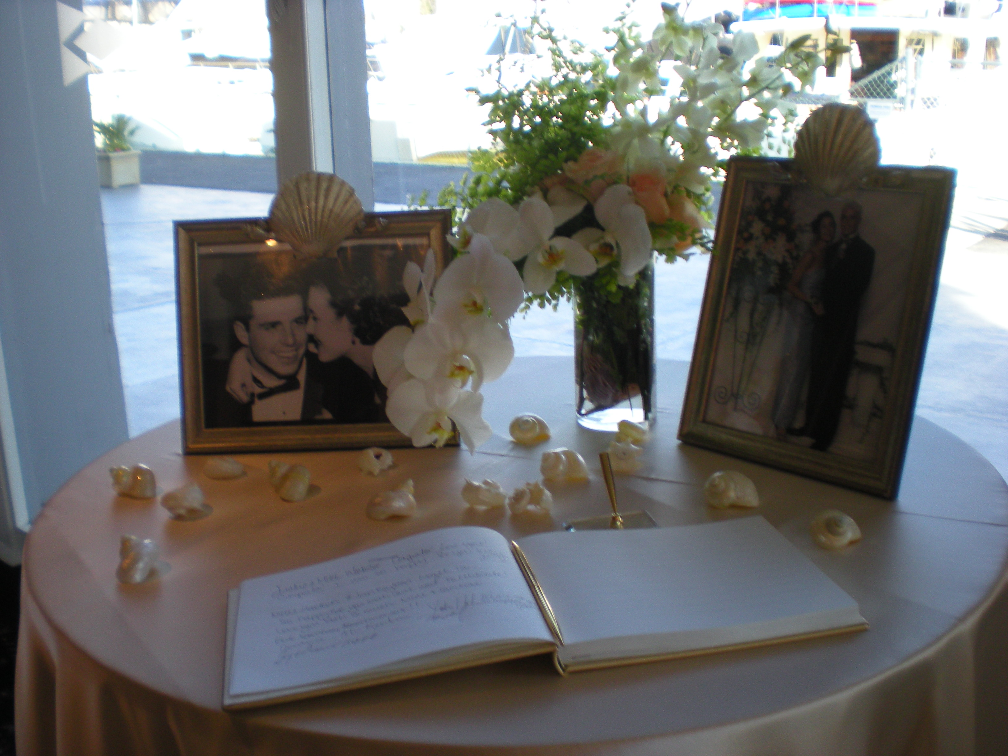 The Guestbook Table