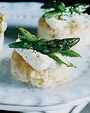 Asparagus-and-Ricotta Toasts Recipe 2010-04-05 16:02:08