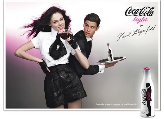 Karl Lagerfeld Coke Ad Featuring Coco Rocha 2010-04-05 11:00:08