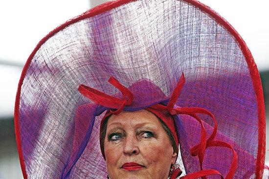 Homemade Hats at Keukenhof Parade