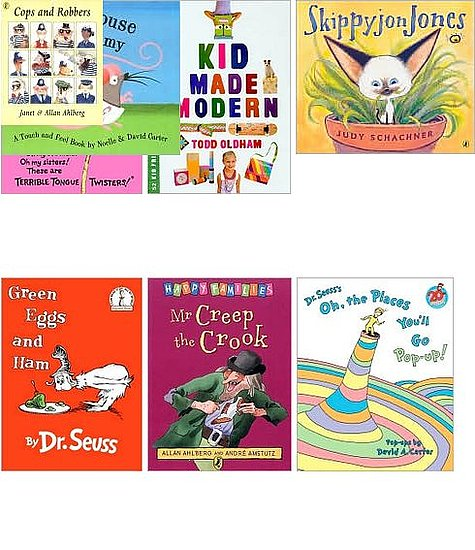 Apple and Moses's Favorite Books