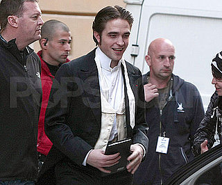 Picture of Twilight's Robert Pattinson Filming Bel Ami in Budapest