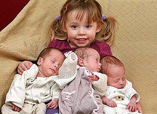 Quadruplets Born Three Years Apart