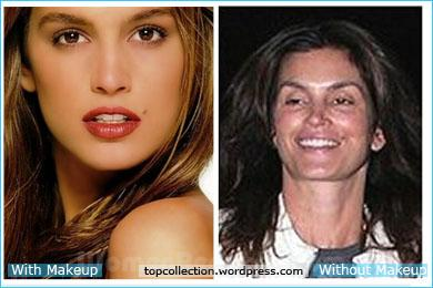 Cindy Crawfors Without Makeup!!!