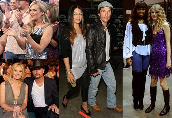 Photos of Matthew McConaughey, Faith Hill, Jennifer Hudson, Tim McGraw, And Taylor Swift Celebrating Brooks & Dunne 2010-04-20 14:00:28