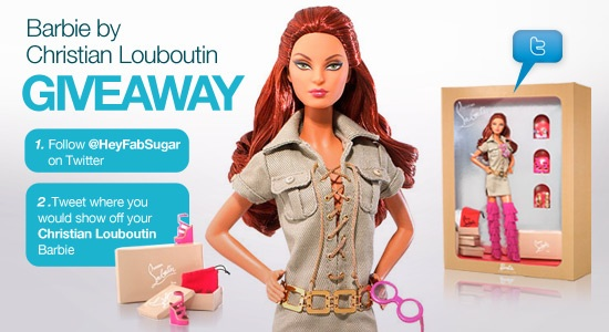 Christian Louboutin Barbie Giveaway