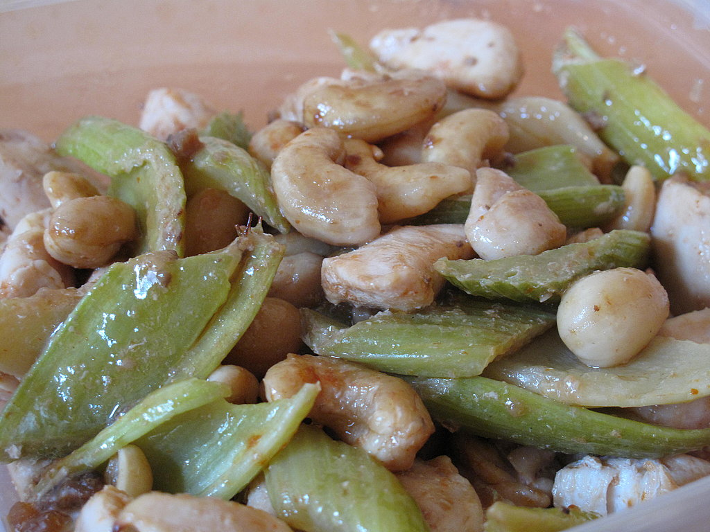 I made a chicken, celery, and cashew stir-fry in the Actifry. I preferred my usual method on the stove.