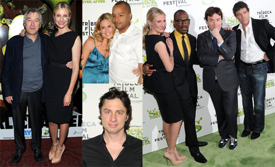 Pictures of Cameron Diaz, Mike Myers, Eddie Murphy at the NYC Premiere of Shrek Forever After 2010-04-22 19:00:00