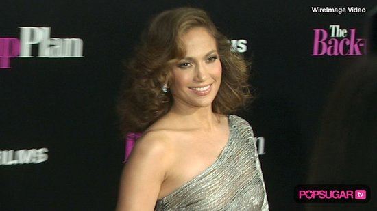 Jennifer Lopez on the Red Carpet at The Back-up Plan Premiere