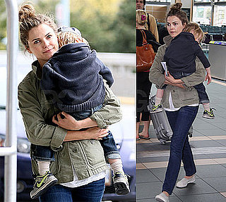Pictures of Keri Russell and River Deary
