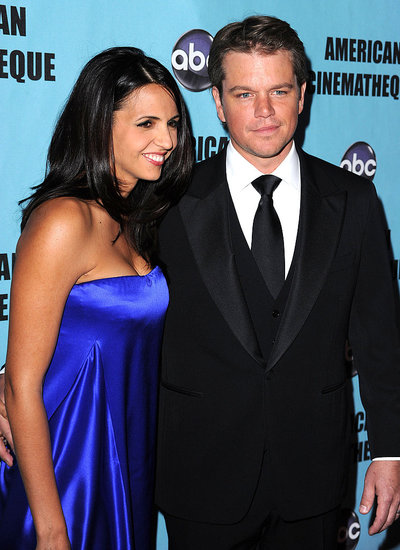 Matt Damon's Wife Luciana Is Pregnant With Baby Number Four