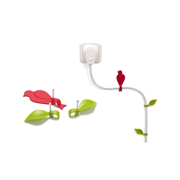 Wire Bloom Cable Clips ($10)