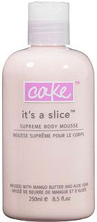 Giveaway For Cake Beauty It's a Slice Supreme Body Mousse