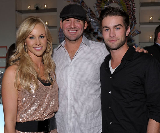Picture of Tony Romo and Candice Crawford With Chace Crawford