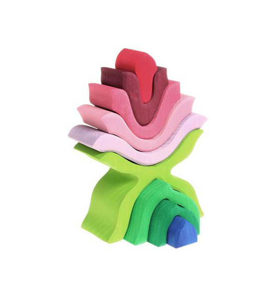 Stacking Flower Puzzle
