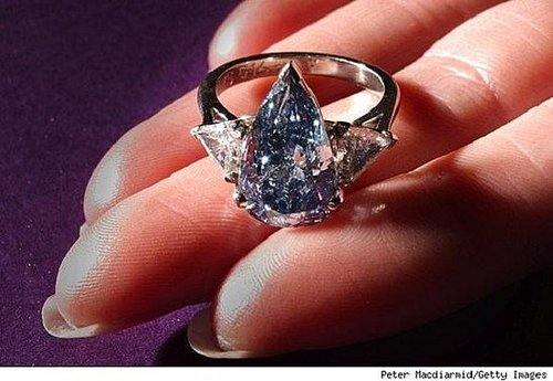 The De Beers Millenium Blue Fetches $1.25 Million Per Carat !!!