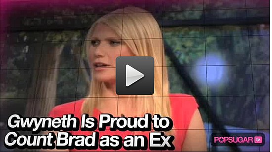 Video: Gwyneth Paltrow Jokes About Brad Pitt on The Marriage Ref!