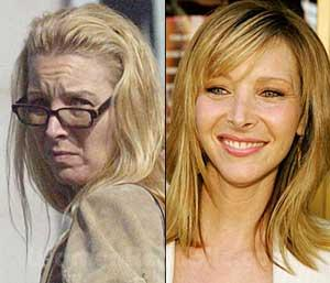 Lisa Kudrow without makeup!!!!