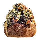 Creamed Spinach Stuffed Mushroom Recipe