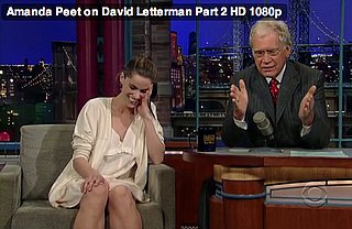 Amanda Peet Shows Off Baby on David Letterman
