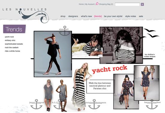 Les Nouvelles Online Shoppping Site