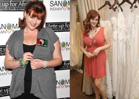 Sara Rue Shops For Wedding Dresses After Losing 40 Pounds on Jenny Craig