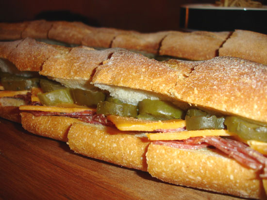 Salami and Pickles