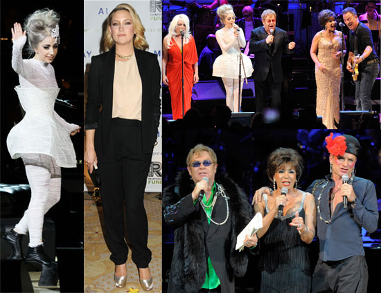 Pictures from the Rainforest Fund's 21st Birthday Celebration with Lady GaGa, Bruce Springsteen, Elton John, Kate Hudson, Sting