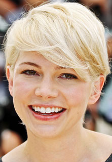 Michelle Williams New Hair Color