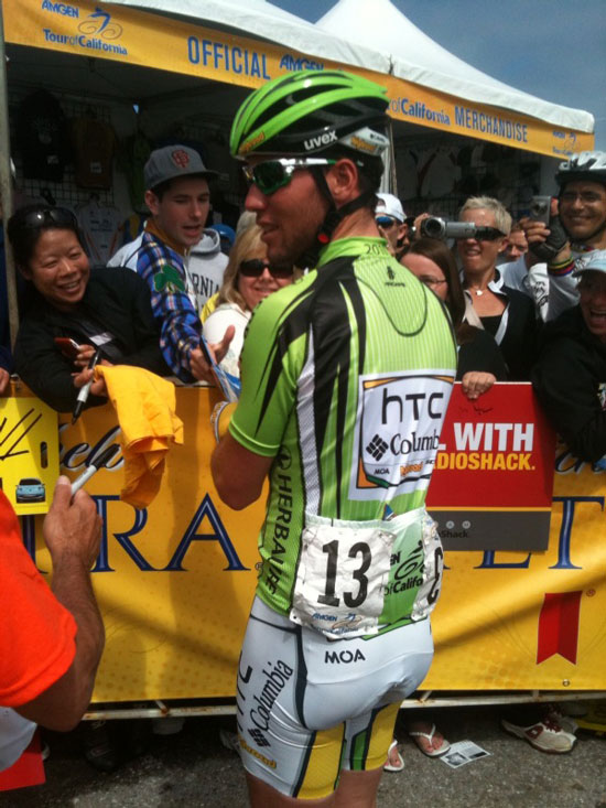 Sprinter Mark Cavendish