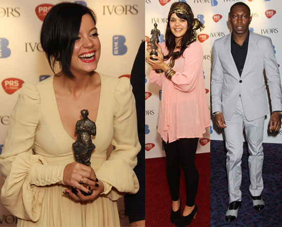 Pictures and Full List of Winners from the Ivor Novello Awards 2010, Lily Allen Wins Three Ivor Novello Awards