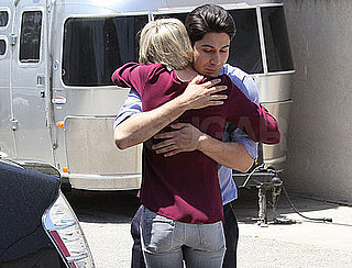 Guess Who's Hugging It Out?