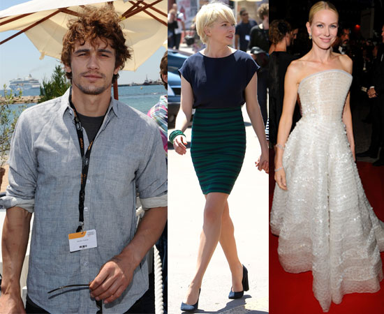 Pictures of James Franco, Michelle Williams, Gerard Butler, Ryan Gosling, Paris Hilton Partying at 2010 Cannes Film Festival