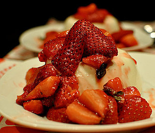 Recipe For Simple Panna Cotta With Strawberries