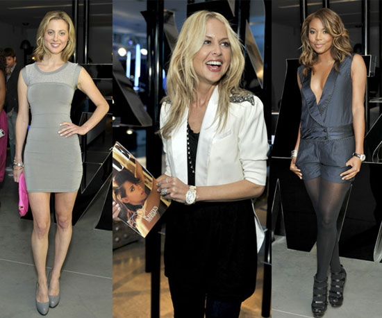 Armani Exchange and Elle Party at AX Store in West Hollywood