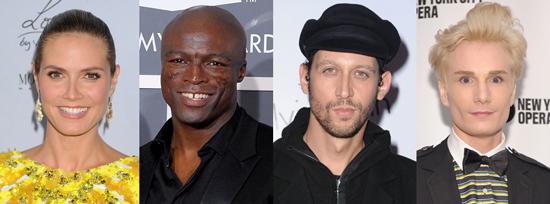 Project Runway Spinoffs For Santino Rice, Austin Scarlett, Heidi Klum, and Seal