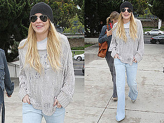 Pictures of Lindsay Lohan Meeting With Her Probation Officer