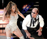 Video of Jennifer Lopez and Tom Cruise as Les Grossman Duet at MTV Movie Awards