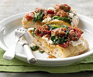 Savory Focaccia Pie Recipe