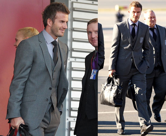 Pictures of David Beckham and England Squad Arriving in South Africa for World Cup 2010-06-03 17:30:57