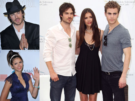 Pictures of The Vampire Diaries Cast Paul Wesley, Ian Somerhalder and Nina Dobrev In Monte Carlo