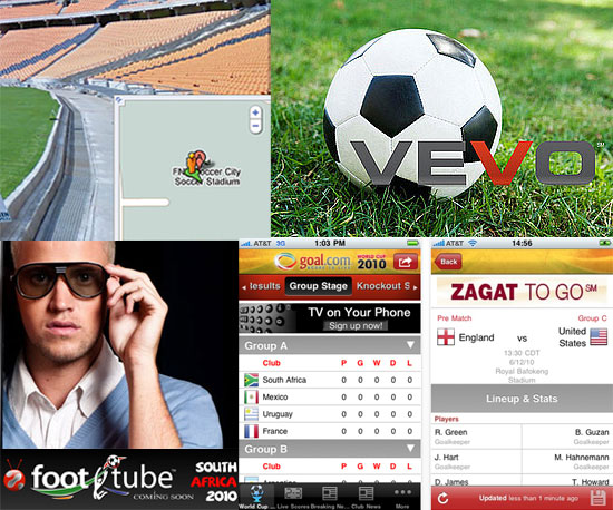 2010 World Cup Schedule, Live Streams, and Apps