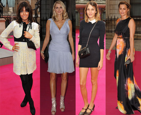 Pictures from the Royal Academy Summer Exhibition Preview Inc New Face of Lacoste Fragrance Alexa Chung, Claudia Winkleman