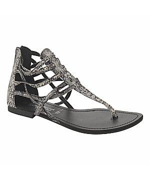 new look snake gladiator sandals