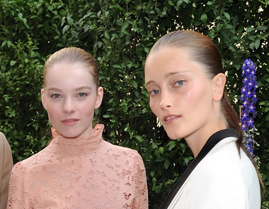 Beauty Looks from Resort 2011 Collections